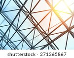 skylight window   abstract... | Shutterstock . vector #271265867