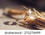 beautiful wedding ring with...   Shutterstock . vector #271276499