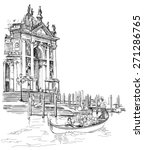 venice   cathedral of santa... | Shutterstock .eps vector #271286765