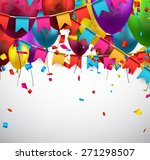 celebrate background. party... | Shutterstock .eps vector #271298507