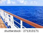 View From Cruise Ship Deck On...