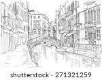 venice   fondamenta rio marin | Shutterstock .eps vector #271321259