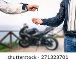 Key Exchange. Motorcycle...