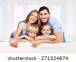 kids  love  parents. | Shutterstock . vector #271324874