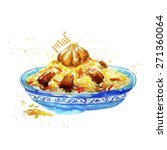 pilaf   Shutterstock .eps vector #271360064