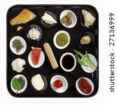 italian snacks   Shutterstock . vector #27136999