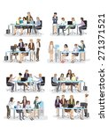 3d business people  different... | Shutterstock .eps vector #271371521