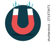 red horseshoe magnet  magnetism ...