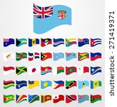 dynamic waving flag collection... | Shutterstock .eps vector #271419371