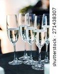 champagne glasses | Shutterstock . vector #271438307