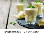 mousse with white chocolate and ... | Shutterstock . vector #271446854