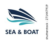 boat logo   brand identity for... | Shutterstock .eps vector #271447919