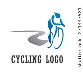 cycling logo   cycle sport... | Shutterstock .eps vector #271447931
