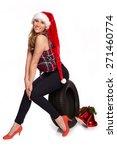 christmas greetings for the... | Shutterstock . vector #271460774