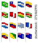 south america all continent... | Shutterstock . vector #271462991