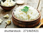 Creamy Cauliflower Garlic Rice...