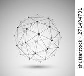 networks   globe design | Shutterstock .eps vector #271494731