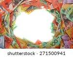 australian money   aussie... | Shutterstock . vector #271500941