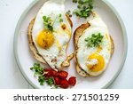 Breakfast  Eggs On Toast