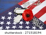 usa memorial day concept with... | Shutterstock . vector #271518194