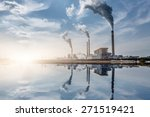 chemical plant  toned iamges ... | Shutterstock . vector #271519421