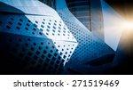 facade of modern office... | Shutterstock . vector #271519469