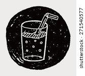 doodle beverages | Shutterstock . vector #271540577