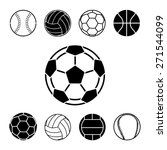 sport balls icons set great for ... | Shutterstock .eps vector #271544099