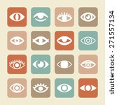 watch icons | Shutterstock .eps vector #271557134