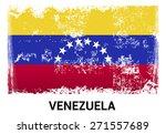 venezuela grunge flag isolated... | Shutterstock .eps vector #271557689