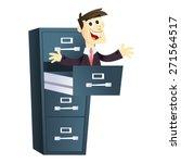 a cartoon vector illustration... | Shutterstock .eps vector #271564517