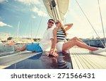 vacation  travel  sea ... | Shutterstock . vector #271566431