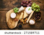 Cheese Variety.food Background...