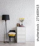 black white interior concept | Shutterstock . vector #271600415