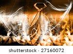 illustration of tie on a rose... | Shutterstock . vector #27160072