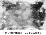 grunge abstract monochrome... | Shutterstock . vector #271612859