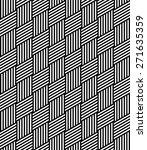 wicker geometric pattern.... | Shutterstock .eps vector #271635359