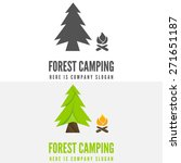 modern camp badge  logo  emblem ... | Shutterstock .eps vector #271651187