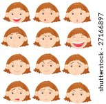 an illustration of twelve... | Shutterstock .eps vector #27166897