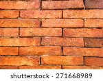 old brick wall   Shutterstock . vector #271668989