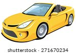 Vector Isolated Yellow...