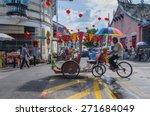georgetown  penang  malaysia  ... | Shutterstock . vector #271684049