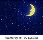 vector illustration of a night... | Shutterstock .eps vector #27168733