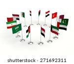 small flags countries in a... | Shutterstock . vector #271692311