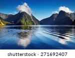 Fiord Milford Sound  South...
