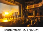 audience in a theater  on a... | Shutterstock . vector #271709024