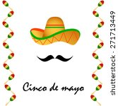 cinco de mayo icon  eps10 | Shutterstock .eps vector #271713449