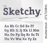 vector hand drawn sketch... | Shutterstock .eps vector #271723841