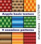 Set Of Nine Basic Patterns...