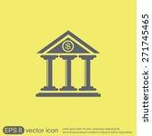 bank building. | Shutterstock .eps vector #271745465